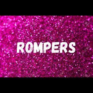 Pants - Rompers